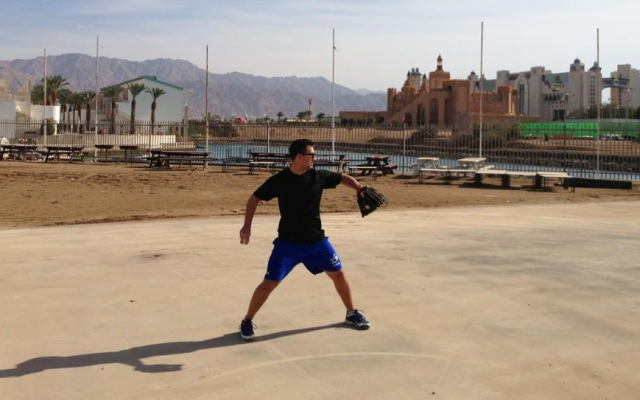 Jake Lemmerman in Eilat (Instagram photo courtesy Jake Lemmerman)