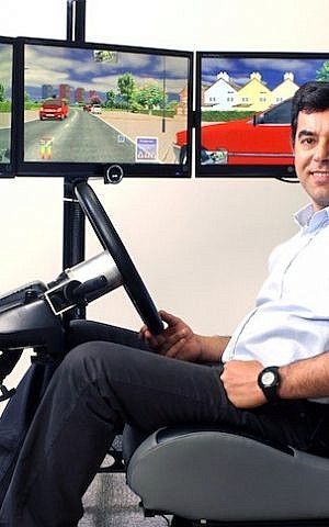 Prof. Amnon Shashua, inventor of Mobileye (Photo credit: Nati Shohat/Flash90)