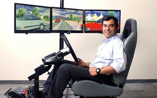 Prof. Amnon Shashua, inventor of Mobileye (Photo credit: Nati Shohat/Flash90)