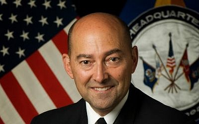 US Admiral James Stavridis, NATO's Supreme Allied Commander Europe (photo credit: courtesy US Dept. of Defense)