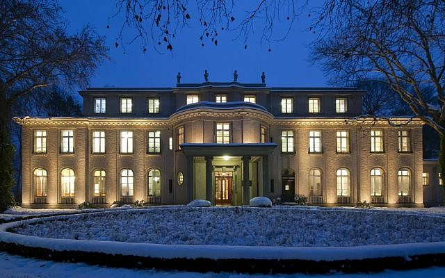 Berlin's House of the Wannsee Conference, where the Third Reich devised the Final Solution in January 1942, is now a memorial and museum. (Courtesy of the House of the Wannsee Conference via JTA)