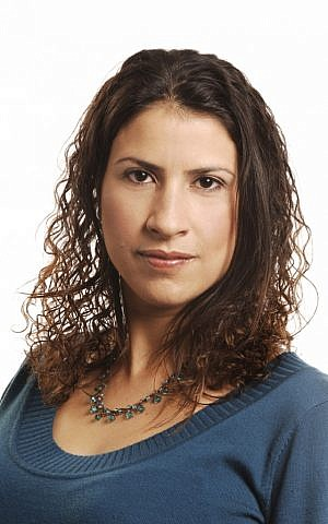 Asma Aghbaria-Zahalka, head of the Daam party, one of four Arab-Israeli women running for Knesset Tuesday (photo credit: Courtesy/Daam(