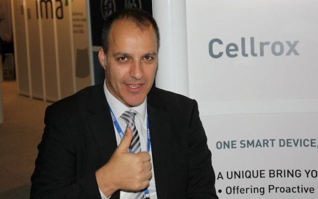 Cellrox CEO Omer Eiferman (Photo credit: Courtesy)