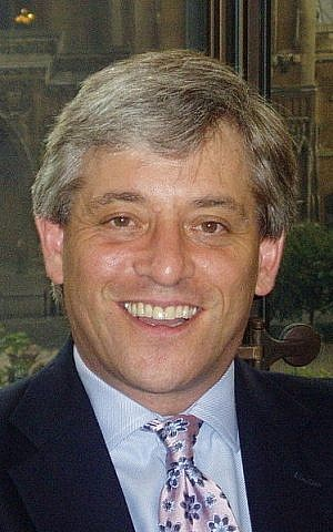 John Bercow (photo credit: CC-BY-SA Office of John Bercow, Wikimedia Commons)