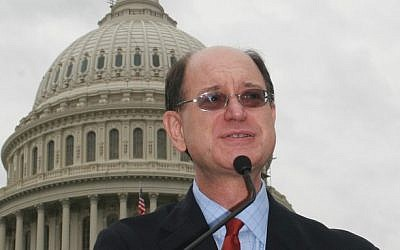 Democratic Congressman Brad Sherman of California (photo credit: CC BY cliff1066™, Flickr)