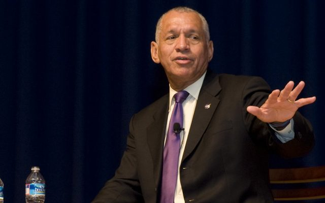 Charles Bolden (photo credit: CC-BY NASA Goddard Space Flight Center/Flickr)