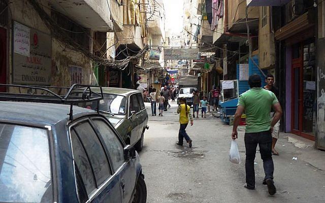 Beddawi refugee camp, Lebanon. (photo credit: Flickr CC BY SA 2.0/EU Humanitarian Aid and Civil Protection)