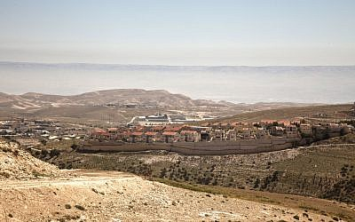Illustrative photo of an Israeli settlement (CC BY-Trocaire, Flickr)