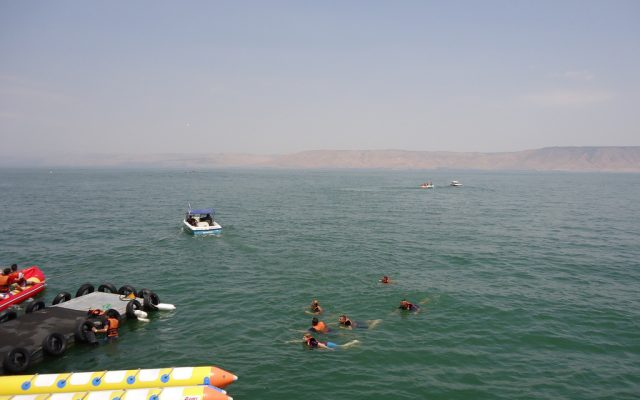 The Sea of Galilee last year. (photo credit: CC BY Joshuapiano, Flickr)