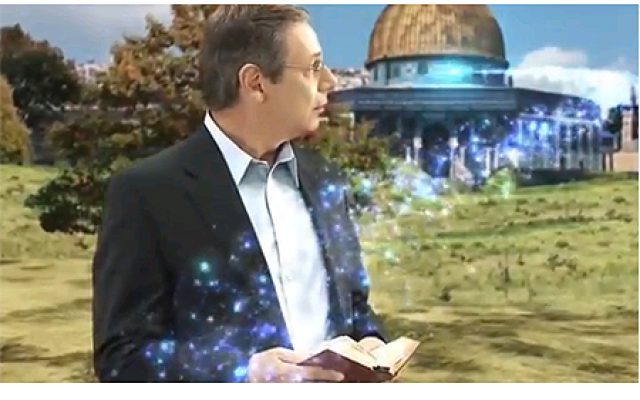 Deputy Foreign Minister Danny Ayalon in the short film 'The Magic of Jerusalem' (screen capture via YouTube)