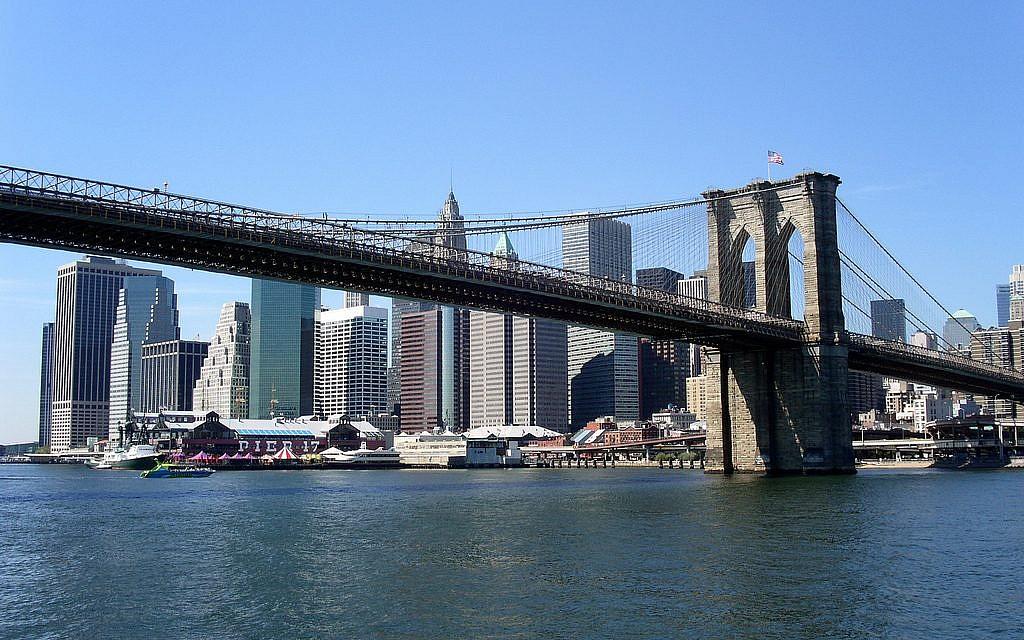 New York's iconic Brooklyn Bridge (CC BY-Buggolo via Flickr.com)