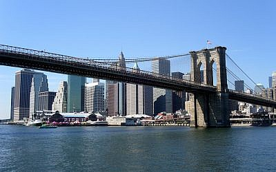 New York's iconic Brooklyn Bridge (CC BY-Buggolo via Flickr.com)