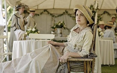 Even diehard 'Downton Abbey' fans were surprised to learn that Lady Cora (Elizabeth McGovern) was born to a Jewish merchant in Ohio. (Courtesy of PBS)
