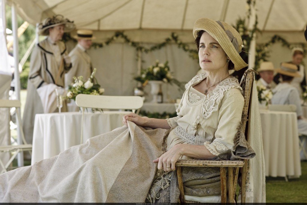 """Even diehard """"Downton Abbey"""" fans were surprised to learn that Lady Cora (Elizabeth McGovern) was born to a Jewish merchant in Ohio. (Courtesy of PBS)"""
