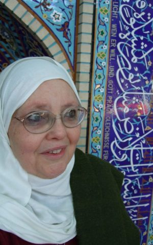 German Muslim theologian Halima Krausen (photo credit: courtesy)