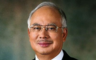 Malaysian Prime Minister Muhammad Najib Abdul Razak (photo credit: CC BY Wikipedia/Malaysian government)
