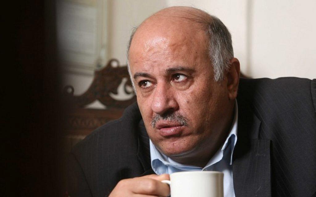 Jibril Rajoub (photo credit: Nati Shohat/Flash90/File)