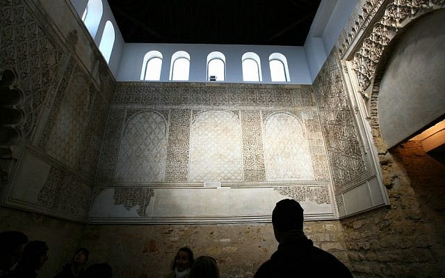 The old synagogue in the city of Cordoba in Andalusia, Spain (photo credit: Chen Leopold/Flash 90)
