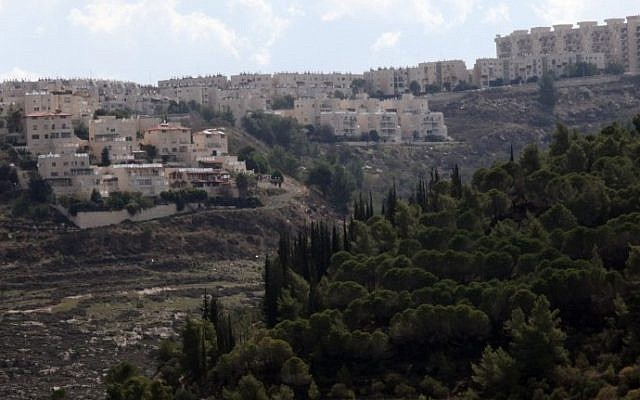 View of Gilo houses surrounded by steep slopes (photo credit: Yossi Zamir/Flash90)