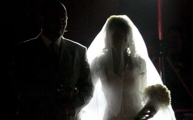 Illustrative photo of a wedding (Moshe Shai/Flash90)