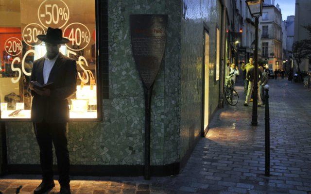 Ultra-Orthodox Jew in Paris, France 2010. (photo credit: Serge Attal/Flash90)