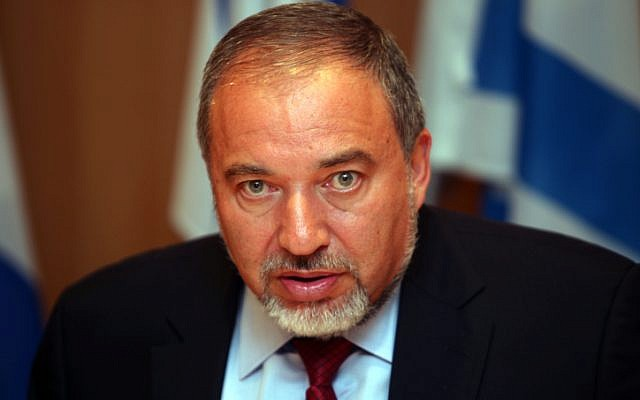 Former foreign minister Avigdor Liberman October 2012. (photo credit: Yoav Ari Dudkevitch / FLASH90)