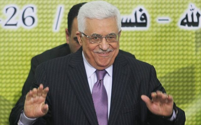 Palestinian Authority President Mahmoud Abbas, December 26, 2012. (photo credit: Issam Rimawi/Flash90)