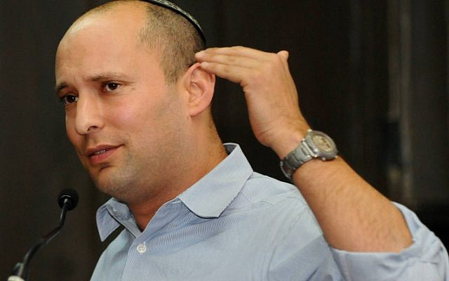 Jewish Home party leader Naftali Bennett (photo credit: Flash90)