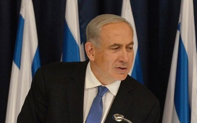 Prime Minister Benjamin Netanyahu, January 2013. (photo credit: Moshe Milner/GPO/FLASH90)