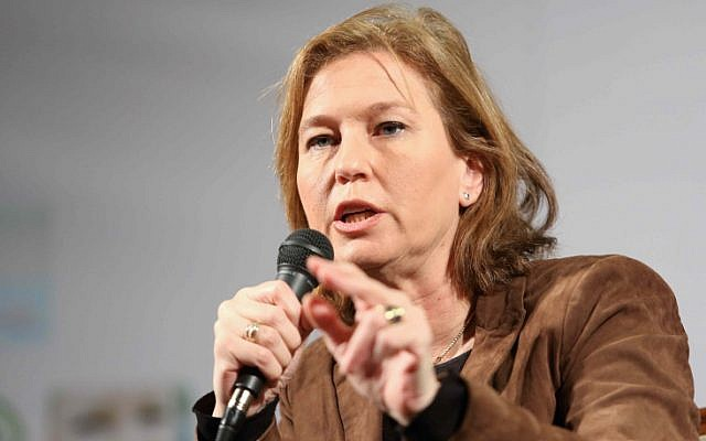 Hatnua party leader Tzipi Livni  January, 2013. (photo credit: Flash90)