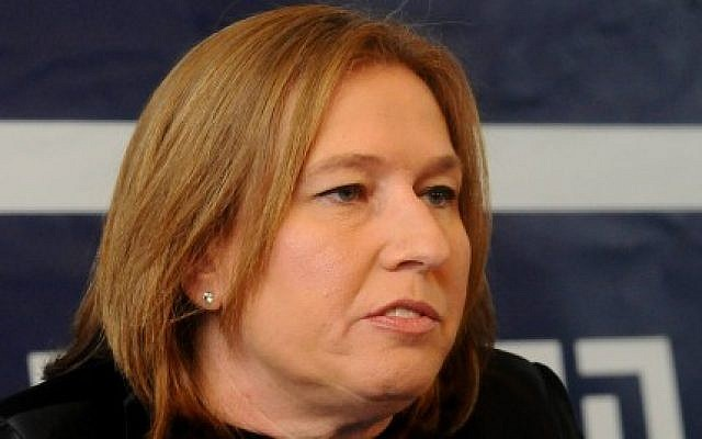 Tzipi Livni, head of the Hatnua party, January 2013. (photo credit: Yossi Zeliger/Flash90)