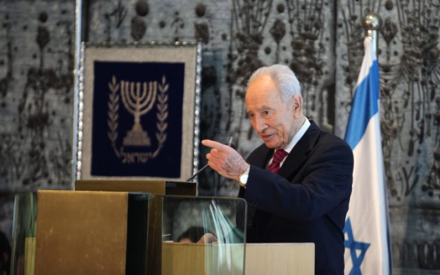 President Shimon Peres will meet with party leaders on Wednesday and Thursday before determining who to task with forming the coalition (photo credit: Yoav Ari Dudkevitch/Flash90)