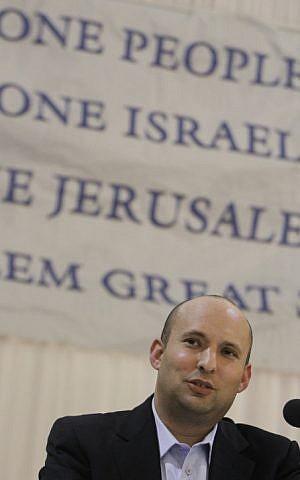 Naftali Bennett (photo credit: Miriam Alster/Flash90)