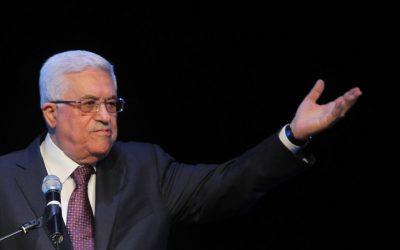 Mahmoud Abbas speaks in Ramallah on January 24, 2013. (photo credit: Issam Rimawi/Flash90)