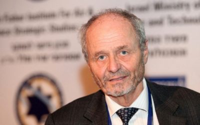Prof. Dr. Berndt Feuerbacher (photo credit: Sivan Faraj)