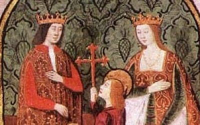 Ferdinand and Isabella (photo credit: Commons)