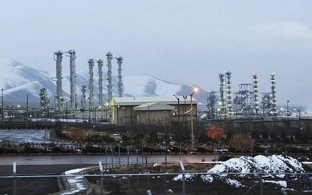 Iran's heavy water nuclear facilities near the central city of Arak, 150 miles (240 kilometers) southwest of Tehran (photo credit: AP/ISNA/Hamid Foroutan/File)