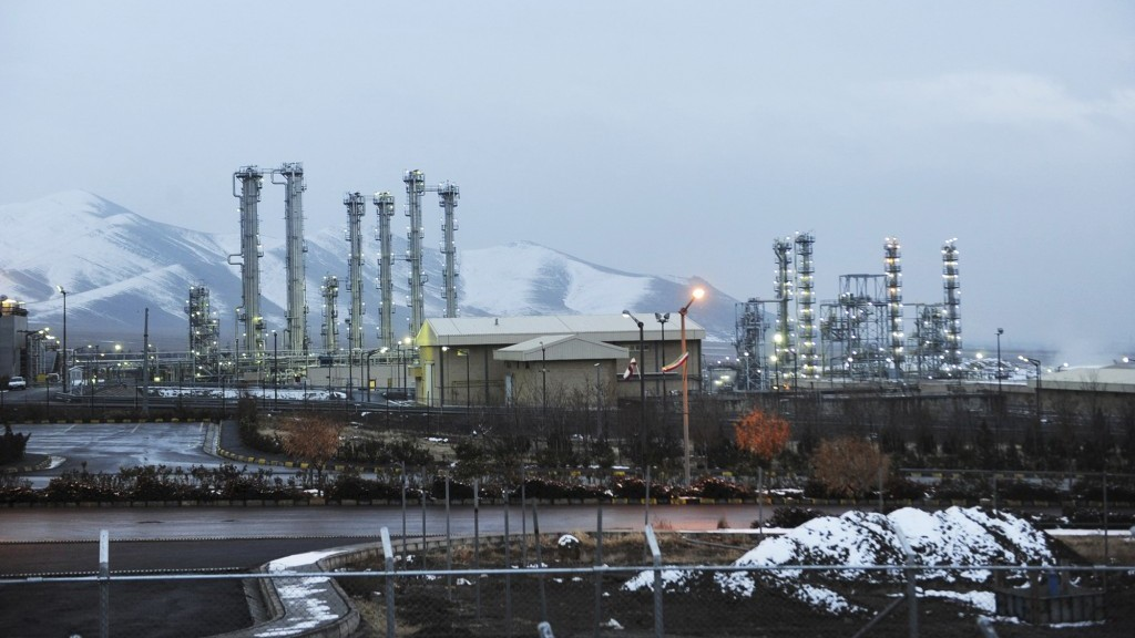 Irans Heavy Water Nuclear Facilities Near The Central City Of Arak 150 Miles 240