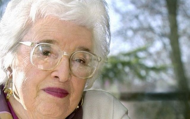 Gerda Lerner 1920-2013 (photo credit: AP/Wisconsin State Journal, Sarah B. Tews)
