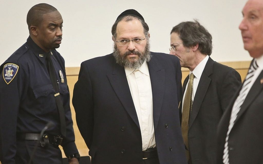 Nechemya Weberman  was convicted and sentenced to 103 years for child sexual abuse. ( AP Photo/Bebeto Matthews)