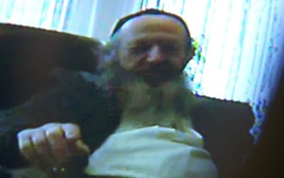In footage recorded by a hidden camera, the head of Britain's Union of Hebrew Congregations advises an alleged victim of sexual abuse not to go to the police. (Channel 4)