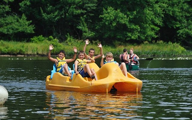 Illustrative image of a Jewish summer camp (Courtesy the Foundation for Jewish Camp/via JTA)