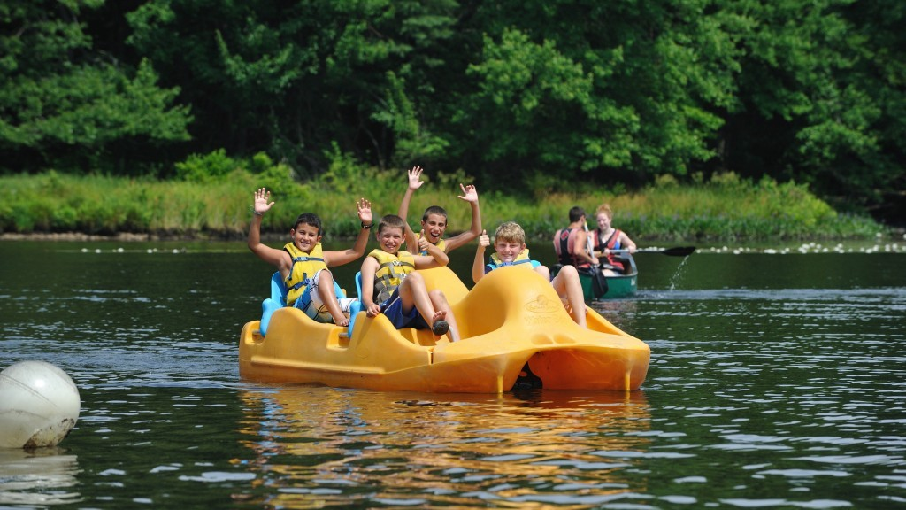 Camp directors say kids expect fancier activities and facilities than past generations. (Courtesy of the Foundation for Jewish Camp via JTA)