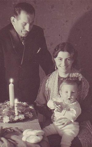 Peter Sachs, seen with his parents shortly after their arrival in the US, fought the German Historical Museum all the way to the country's Supreme Court. (Courtesy of Peter Sachs)