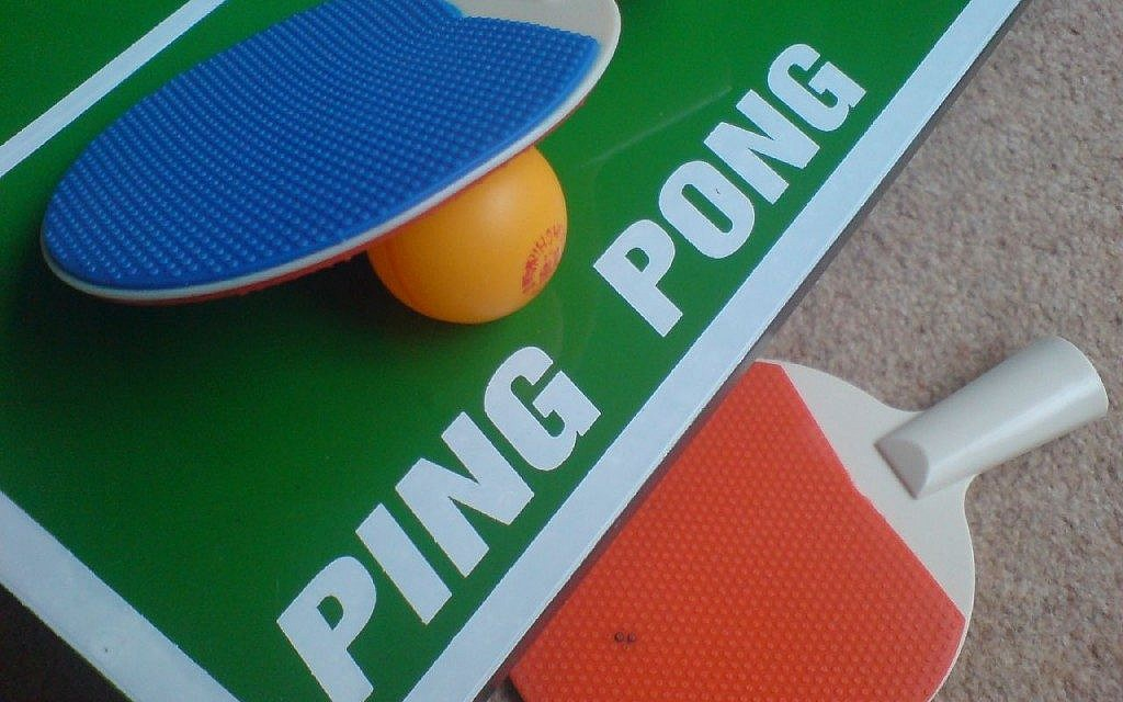 Estee Ackerman withdrew from the US national table tennis championships after being scheduled for a match on a Friday evening. (Photo credit: CC BY/Zimpenfish via Flickr.com)