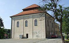 The former synagogue in Sandomierz is now a state archive. (Courtesy of Zygmunt Miłoszewski)