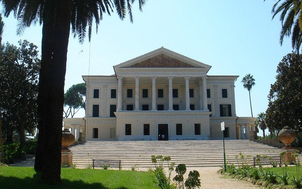 Villa Torlonia, in Rome, Italy (photo credit: CC-By-SA, Lalupa, Wikimedia Commons)