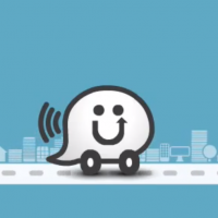 A screen capture from a Waze tutorial video (photo credit: Waze/YouTube)