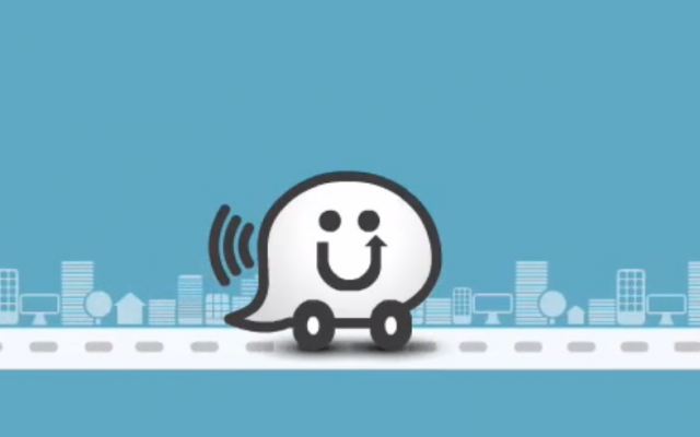 A screen capture from a Waze tutorial video (photo credit: Waze/YouTube)