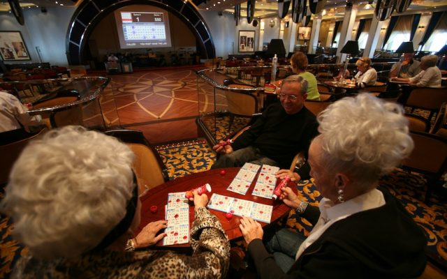 Gambling on a cruise ship (Yossi Zamir/Flash90)